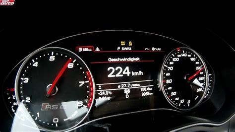 Audi Rs6 Beschleunigung by Audi Rs6 2013 Beschleunigung 0 300 Km H Sport Auto