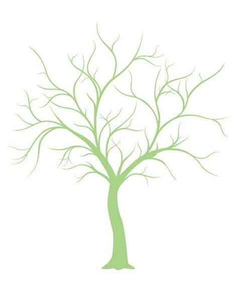 Kostenlose Vorlage Fingerabdruck Baum Ein Katalog Unendlich Vieler Ideen