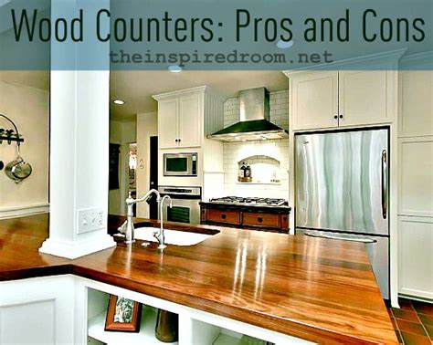 Wood Countertops Pros And Cons how to build wood kitchen countertops diy blueprint plans