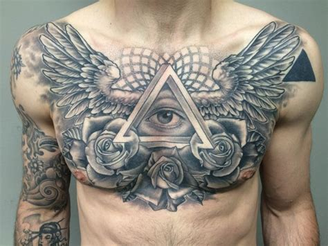 tattoo chest eyes 310 best all seeing eye tattoos images on pinterest eye