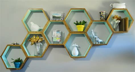 Diy Honeycomb Shelves Loving Here Diy Honeycomb Shelves
