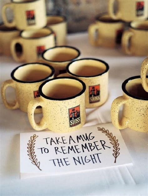 Wedding Favors Mugs by 21 Diy Winter Wedding Favors For Guests To Cozy Up To