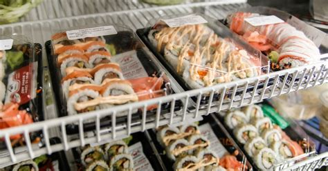 sushi shop siege social sushi ingredients used in prepackaged version fail to