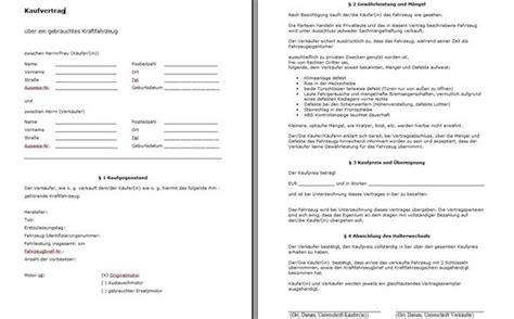 Motorrad Verkaufen Ohne Abmeldung by Kfz Kaufvertrag 252 Berpr 252 Fen Alles So In Ordnung Auto