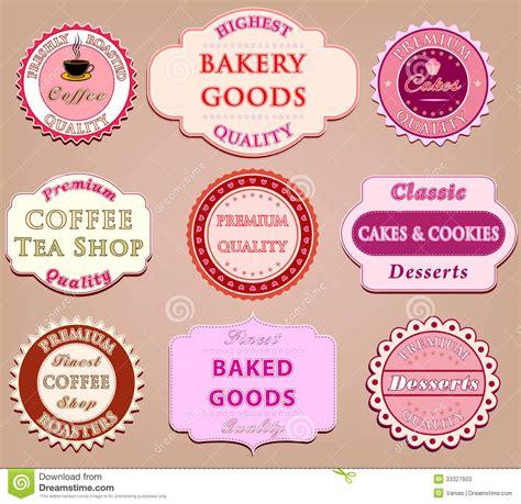label design eps set of coffee label design stock vector illustration of