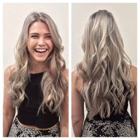 gray ash blonde hair gray blondes and ash on pinterest