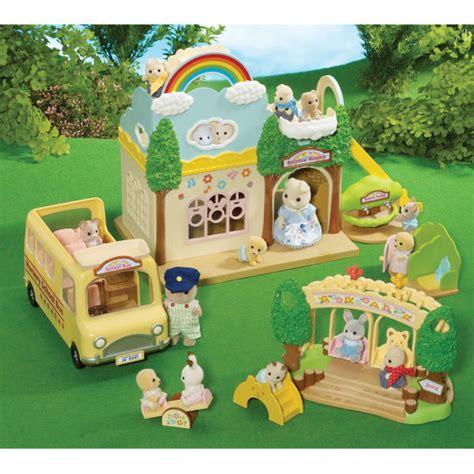Sylvanian Families Nursery Set sylvanian families nursery playground swing set zavvi nl