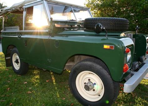 1970 land rover for sale classic for sale 1970 land rover series ii a convertible