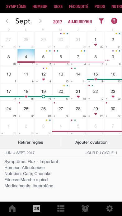 Calendrier D Ovulation Et Règles Calendrier Des R 232 Gles Cycle Menstruel Ovulation Dans L