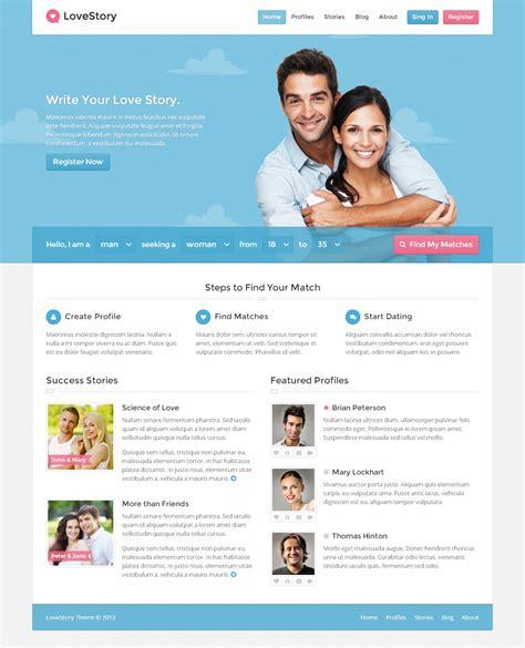 story website themes lovestory dating wordpress theme by themex themeforest