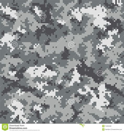 grey army pattern digital camouflage pattern stock vector image of military