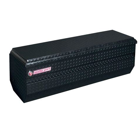 weather guard aluminum all purpose chest in black 664 5 01