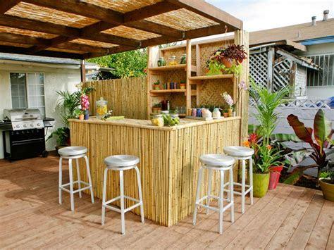 Outdoor Bar Ideas outdoor bar ideas diy or buy an outdoor bar outdoor spaces patio ideas decks gardens hgtv