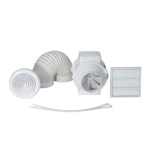 High Flow Bathroom Extractor Fan by Airflow Aventa Av100t Kit 100mm In Line Mixed Flow Timer Bathroom Extractor Fan