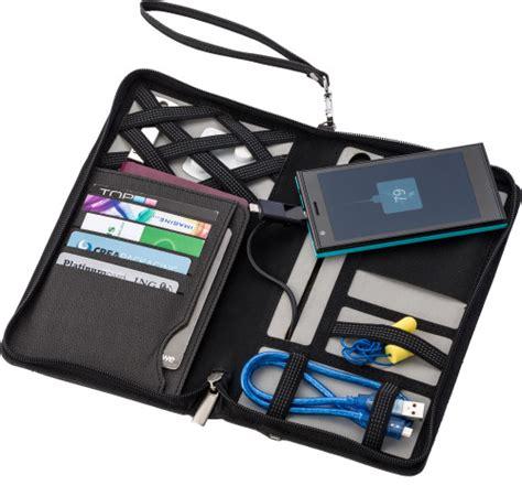 Power Bank Wallet svepa pu travel wallet with 4000mah power bank impression