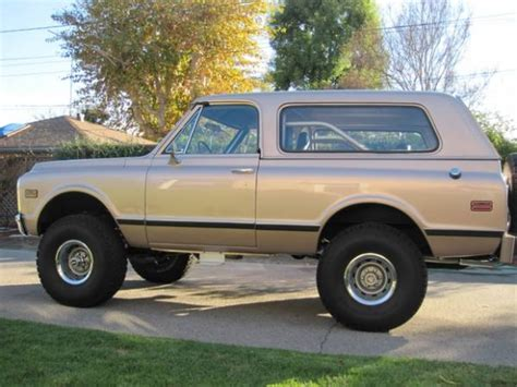 Sale Blazer 1972 chevrolet blazer 4 215 4 bring a trailer