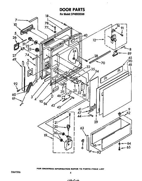 whirlpool dishwasher model du930pwsq0 schematics get
