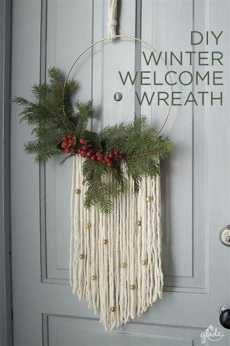 vogue living christmas wreath modern boho style series the happy housie