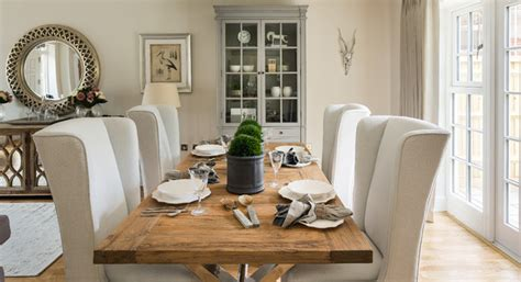 luxury country style family home farmhouse dining room