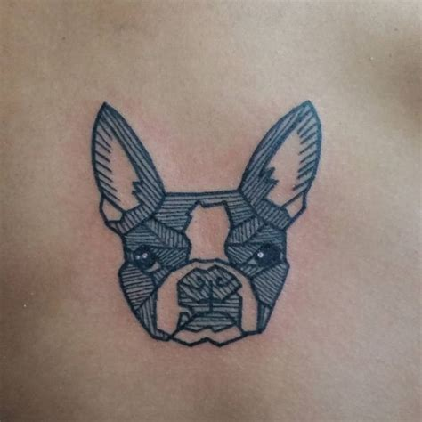 geometric tattoo artists in boston the 25 best boston terrier tattoo ideas on pinterest