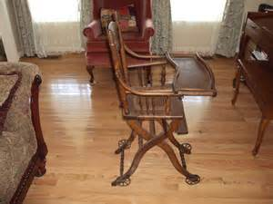 Antique Wooden High Chair For Sale era convertible stroller high chair for sale