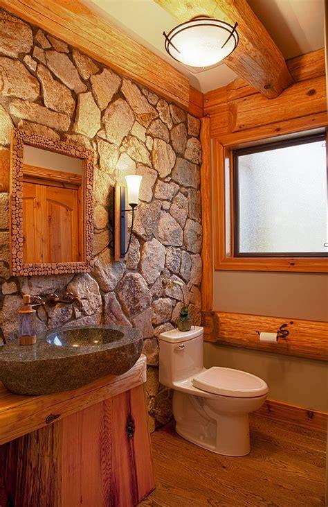 Log Cabin Great Room Ideas