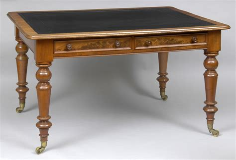 Antique Table by Antique Mahogany Writing Table