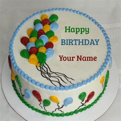Balon Cake Happy Birthday Berkualitas balloon birthday cakes name covers and cakes for birthday