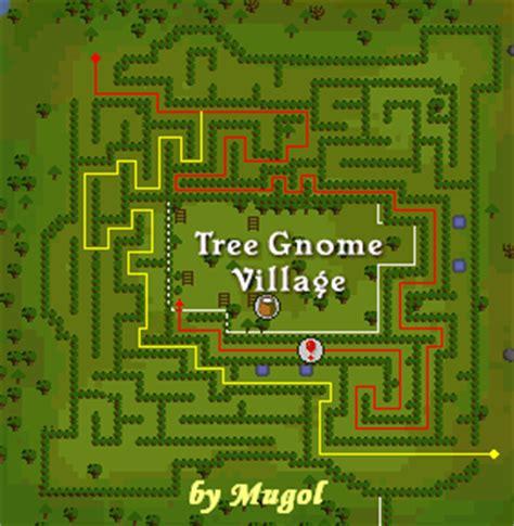 tree gnome village maze runescape quests
