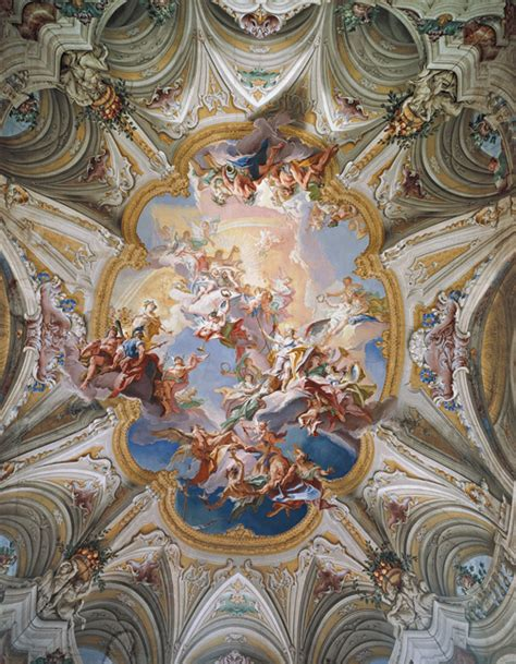 Painting On The Ceiling by Josh S Band Baroque Paintings