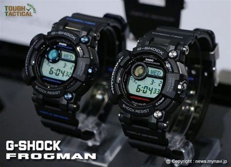 Casio G Shock Frogman Gwf D1000b 1jf With Water Depth Sensor Jdm Origi the upcoming new generation of g shock frogman models the gwf d1000 1jf the gwf d1000b 1jf
