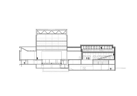 Section 25c by Gallery Of Kuopio City Theatre Ala Architects 45