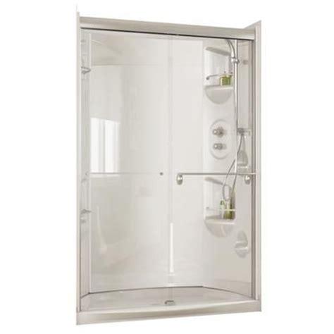basement bath maax urbano 4832 optional white acrylic