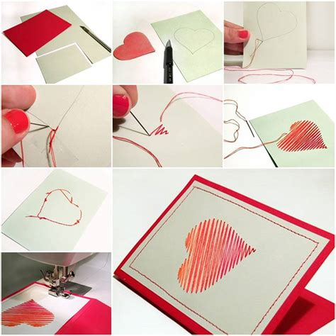how to make a card how to make sew card step by step diy tutorial