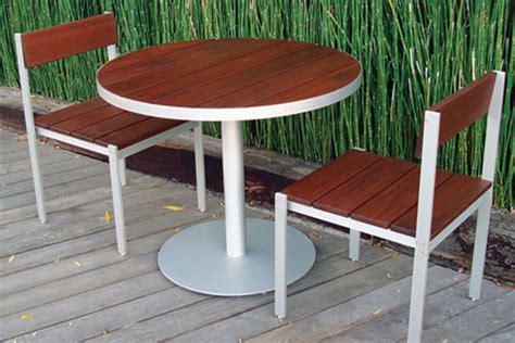 ipe patio furniture luma dining table and chairs ipe modern patio