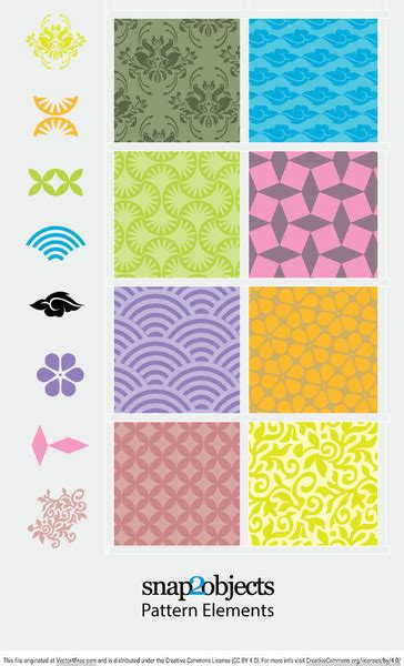 svg move pattern with element decorative pattern elements free vector in adobe