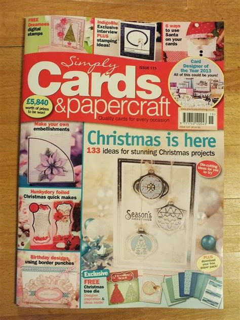Simply Papercraft - in the craft published in
