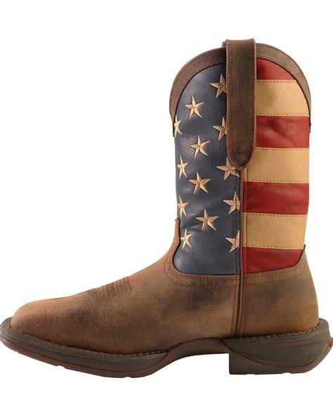 american flag mens boots durango s rebel american flag cowboy boot steel toe
