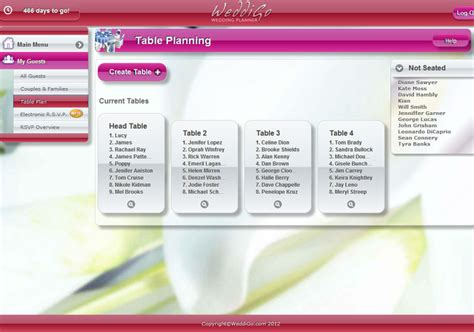 Wedding Planner Software by Wedding Planning Software 2016
