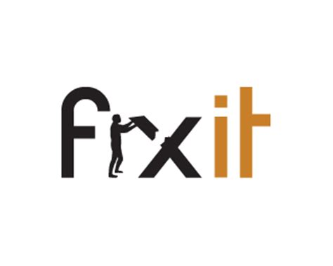 fixer logo fixit designed by alkiviadis brandcrowd