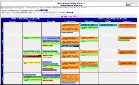Events Calendar Events Calendar Now Linked With