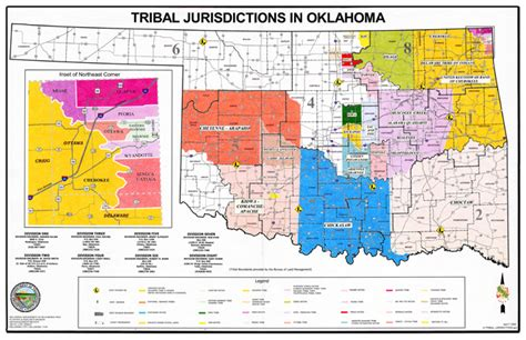 map of american tribes in oklahoma pin oklahoma tribes the american indian center on