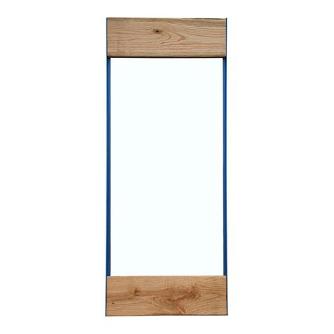Oak Bathroom Mirror Oak And Iron Length Mirror By Oak Iron Furniture Notonthehighstreet
