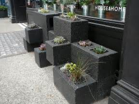 cinder block planter saf affect