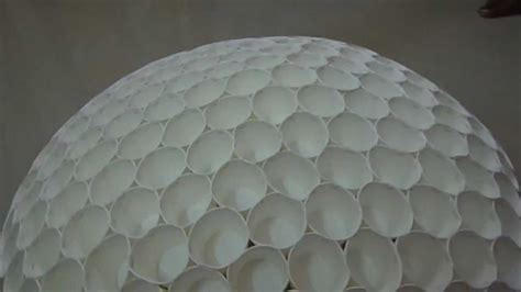 How To Make A Dome Out Of Paper - amazing paper cup geodesic dome science project