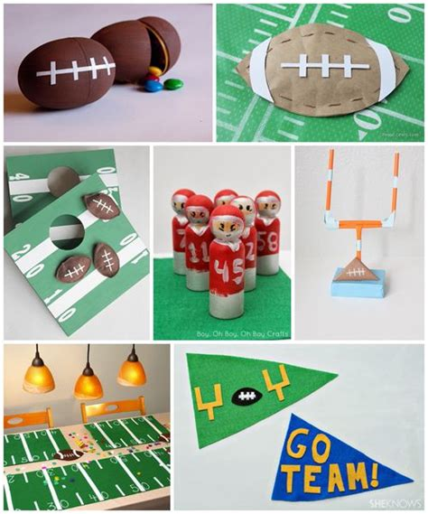 football craft projects best 25 football crafts ideas on