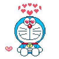 Sticker Ac Doraemon โดเรม อน nui