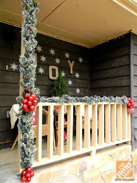 top 10 front porch christmas decor ideas easy backyard