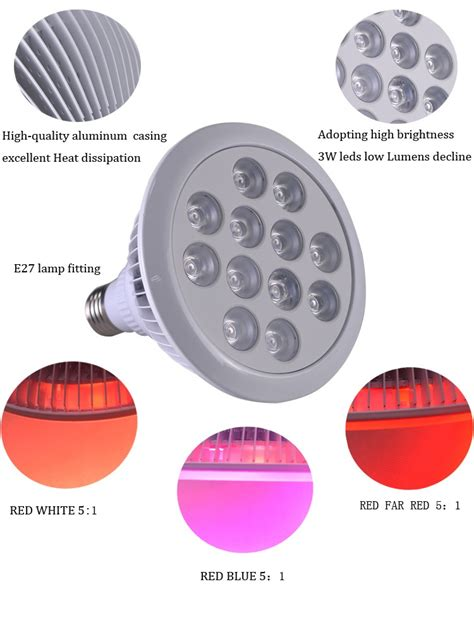 low cost led light bulbs low cost cheap greenhouse equipment 36w e27 w26 led grow