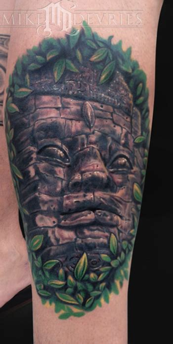 angkor wat tattoo angkor wat by mike devries tattoonow